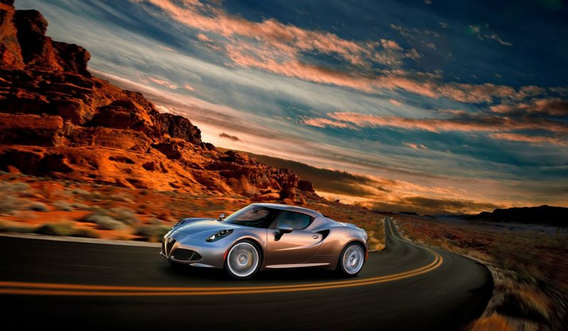 Alfa Romeo 4C Coupé full
