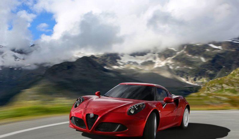 Alfa Romeo 4C Coupé pieno