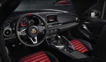 test abarth 124 spider pieno